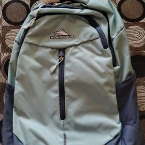 High Sierra Backpack With Tags